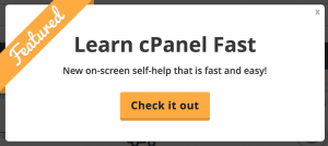 Learn cPanel Fast