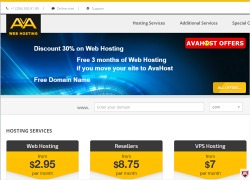 Avahost discount