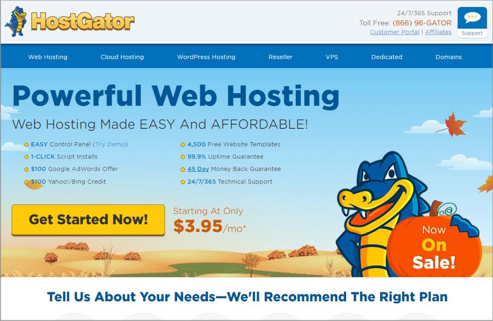 HostGator Hosting Review Web Hosting Sun - Hostgator website templates