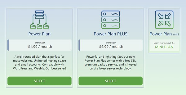 WebHostingPad Shared Hosting Prices