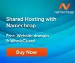 Namecheap Hosting Promo