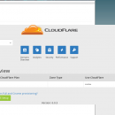 CloudFlare Dashboard